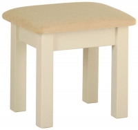 Devonshire Lundy Painted Dressing Table Stool