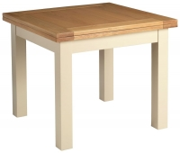 Devonshire Lundy Painted Square Extending Dining Table - 91.5cm-183cm