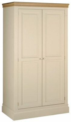 Lundy Painted 2 Door Ladies Wardrobe