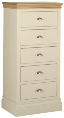 Lundy Painted 5 Drawer Wellington Chest