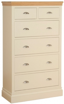 Devonshire Lundy Pine Chest of Drawer - Large 4+2 Drawer