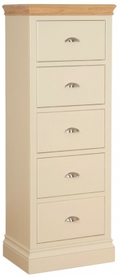 Devonshire Lundy Pine Chest of Drawer - Large 5 Drawer