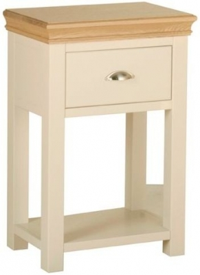 Devonshire Lundy Pine Console Table - 1 Drawer
