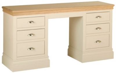 Devonshire Lundy Pine Dressing Table - Double Pedestal