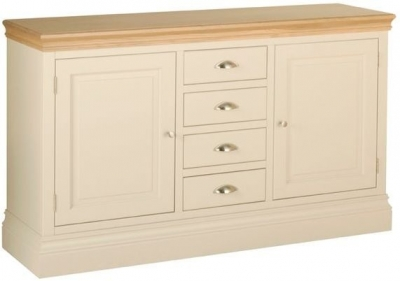Devonshire Lundy Pine Sideboard - 2 Door 4 Drawer