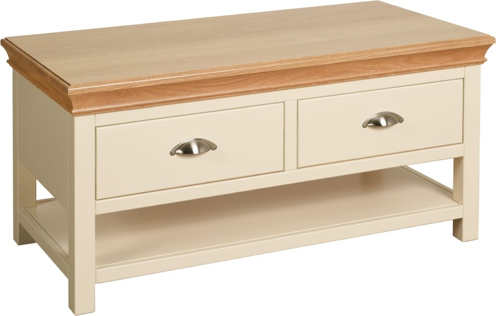 Lundy Painted Storage Coffee Table