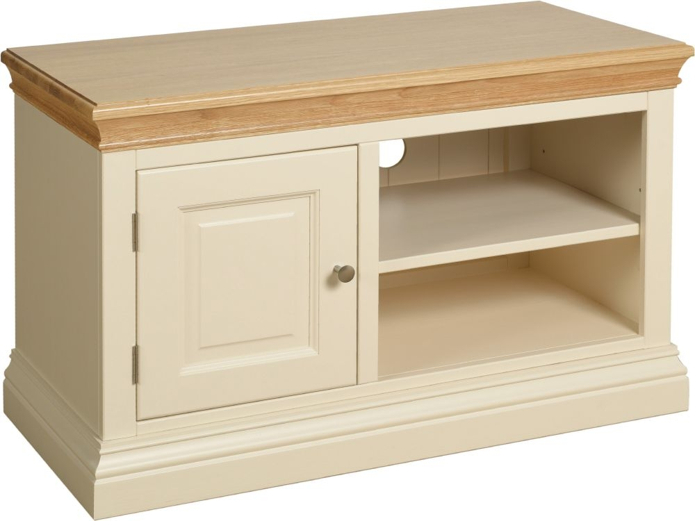 Devonshire Lundy Ivory Painted TV Unit
