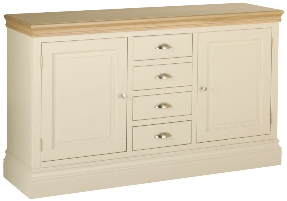 Devonshire Lundy Ivory Painted Wide Sideboard