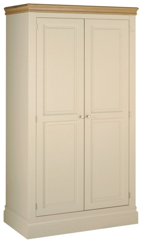 Devonshire Lundy Painted 2 Door Double Wardrobe