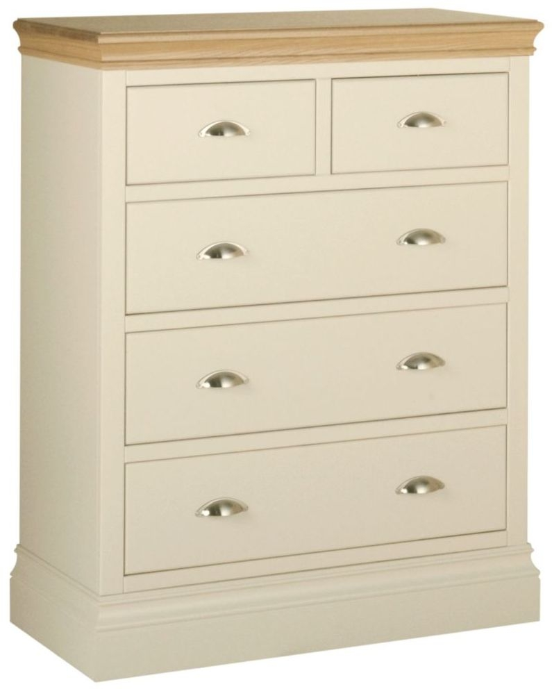 Devonshire Lundy Ivory Painted 3+2 Drawer Chest
