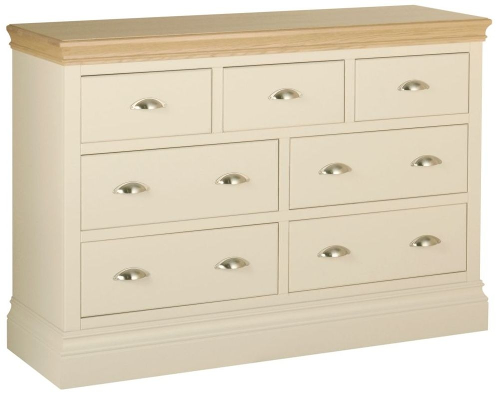 Lundy Painted 3 Over 4 Drawer Chest