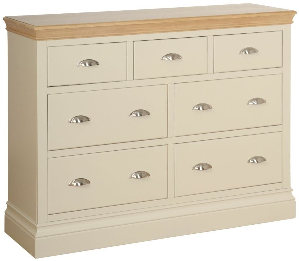 Devonshire Lundy Ivory Painted 4+3 Drawer Jumper Chest