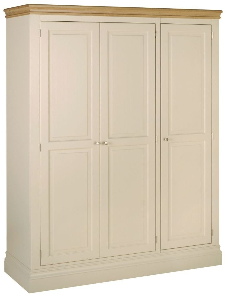 Devonshire Lundy Painted 3 Door Triple Wardrobe
