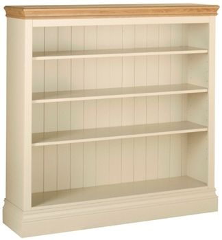 Devonshire Lundy Painted Bookcase - 4ft Wide