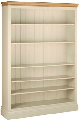 Devonshire Lundy Painted Bookcase - 6ft Wide