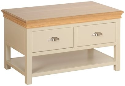 Devonshire Lundy Painted 2 Drawer Storage Coffee Table