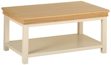 Devonshire Lundy Painted Coffee Table with Shelf