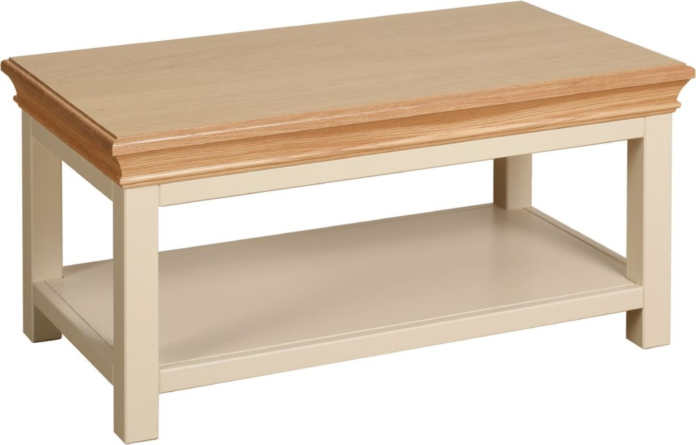 Devonshire Lundy Ivory Painted Coffee Table