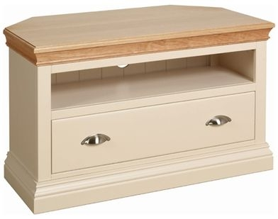 Devonshire Lundy Painted Corner TV Unit