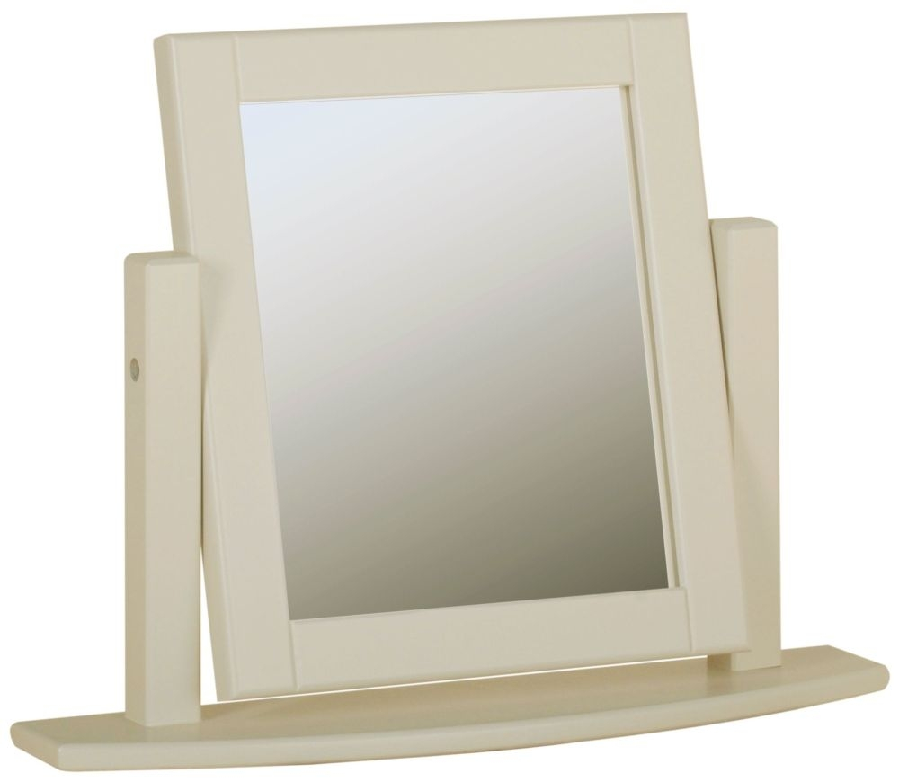 Devonshire Lundy Dressing Mirror - Ivory Painted