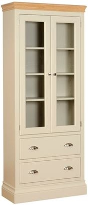 Devonshire Lundy Painted Glass Display Cabinet