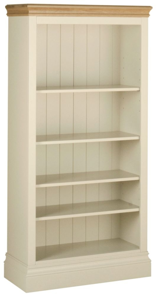 Devonshire Lundy Ivory Painted 5ft Bookcase