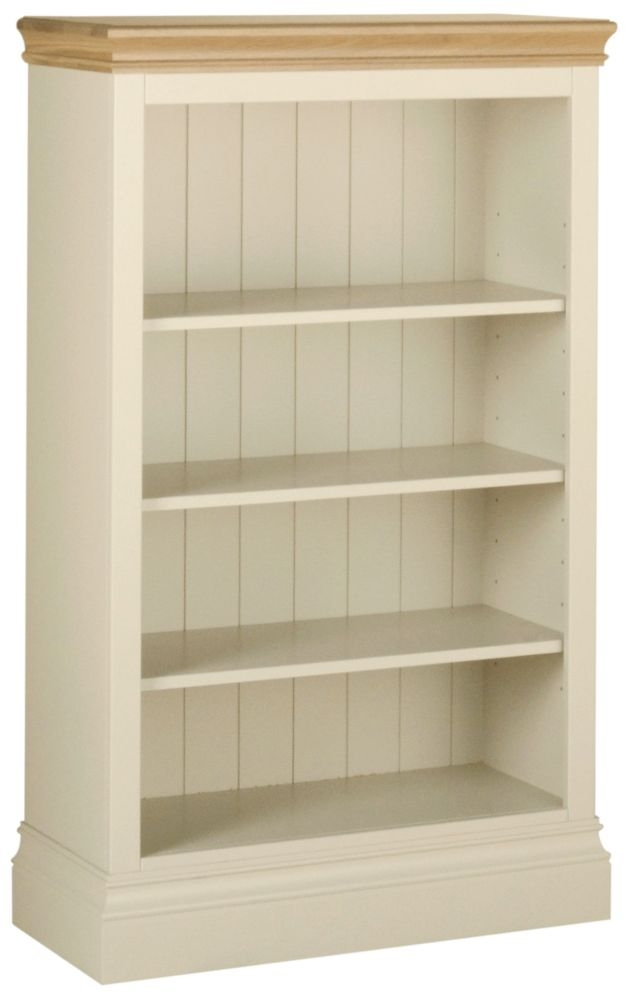 Devonshire Lundy Ivory Painted 4ft Bookcase