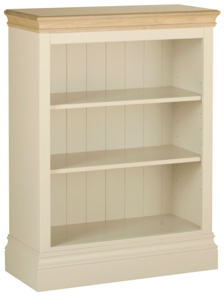 Devonshire Lundy Ivory Painted 3ft Bookcase