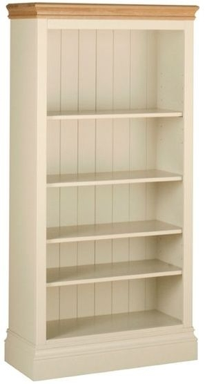 Devonshire Lundy Painted Bookcase - 5ft