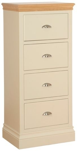 Devonshire Lundy Pine Chest of Drawer - Large 4 Drawer