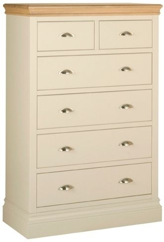 Devonshire Lundy Pine Chest of Drawer - Small 4+2 Drawer