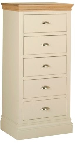 Devonshire Lundy Pine Chest of Drawer - Small 5 Drawer
