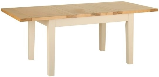 Devonshire Lundy Painted Rectangular Extending Dining Table - 135cm-202cm