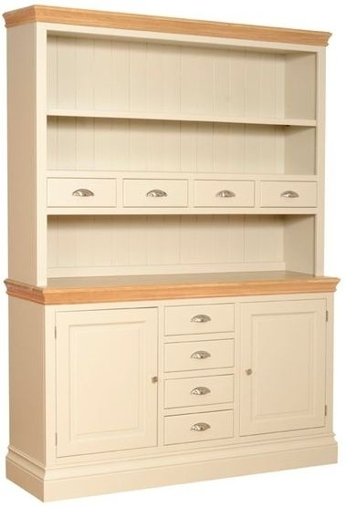 Devonshire Lundy Pine Open Top Dresser - Large with Spice Drawers