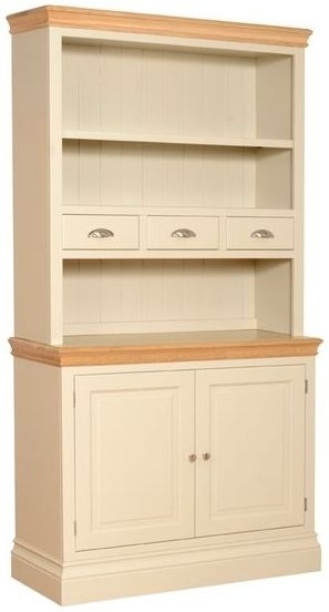 Devonshire Lundy Pine Open Top Dresser - Small with Spice Drawers