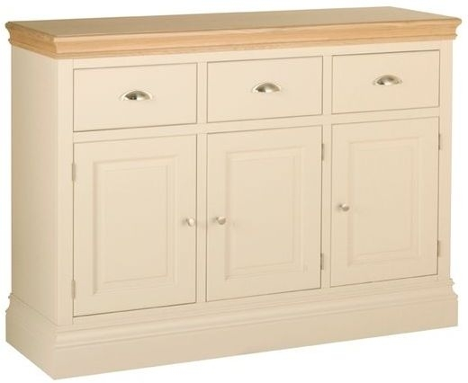 Devonshire Lundy Painted 3 Door 3 Drawer Wide Sideboard