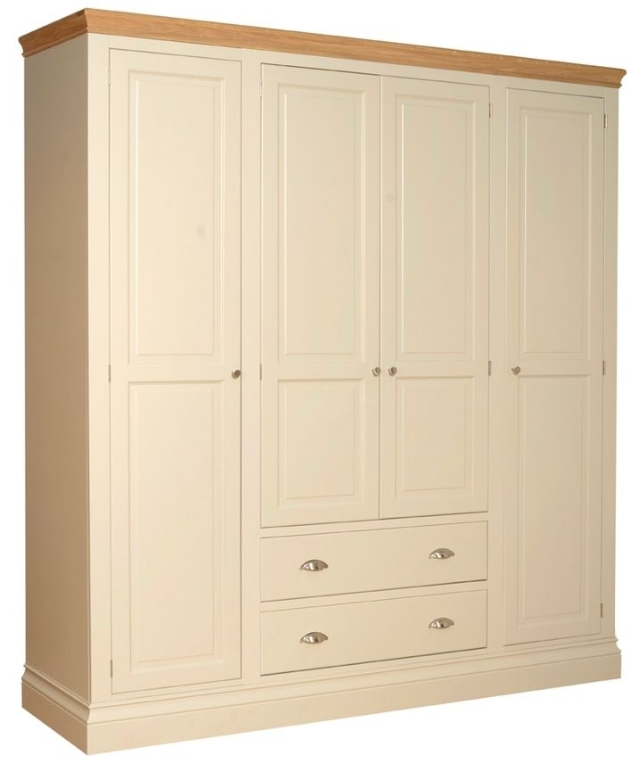 Devonshire Lundy Pine Wardrobe - 2 Drawer