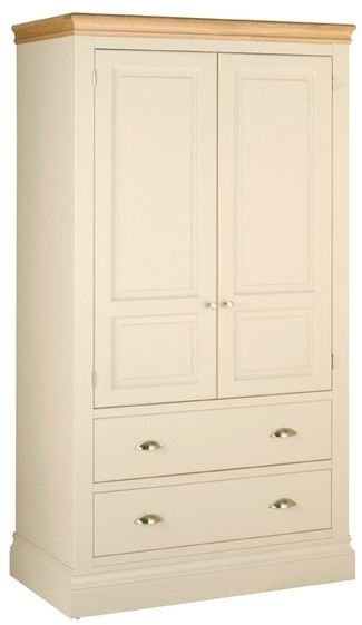 Devonshire Lundy Pine Wardrobe - Double 2 Drawer