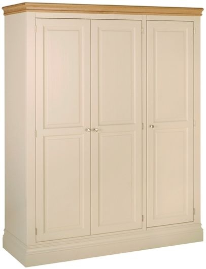 Devonshire Lundy Pine Wardrobe - Triple
