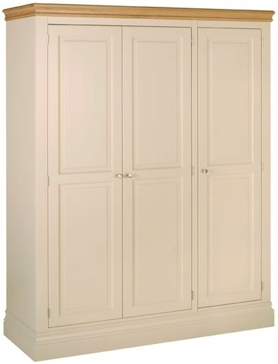 Devonshire Lundy Painted Triple Wardrobe - 3 Door