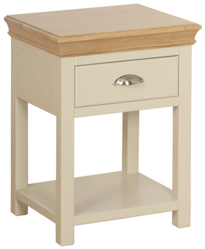 Devonshire Lundy Ivory Painted Bedside Table