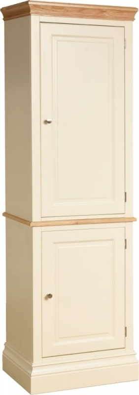 Devonshire Lundy Painted 2 Door 1 Drawer Single Larder Cupboard