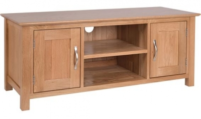 Devonshire New Oak Large TV Unit