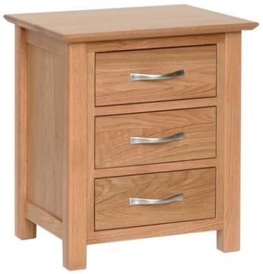 Devonshire New Oak Bedside Cabinet