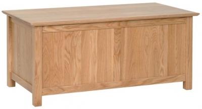 Devonshire New Oak Blanket Box