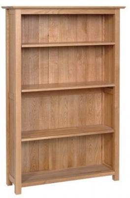 Devonshire New Oak Medium Bookcase