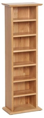 New Oak CD Rack