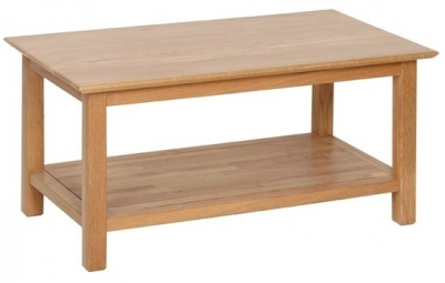 Devonshire New Oak Coffee Table - Large