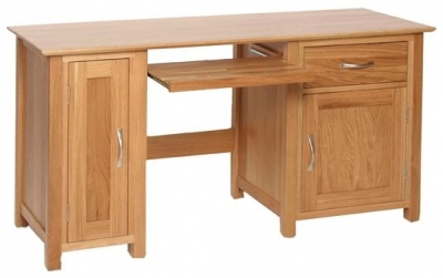 Devonshire New Oak Computer Desk
