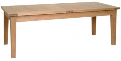 Devonshire New Oak Dining Table - Large Extending